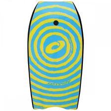 "Osprey 41"" Body Board / Boogie Board with Leash Yellow Spiral"