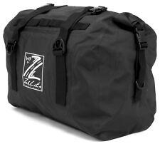 Waterproof Motorcycle Luggage Roll Top Dry Bag Seat Tail Rack Pack 35L Black
