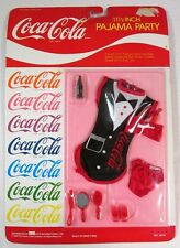 """Coca-Cola Pajama Party Accessories for 11.5-12.5"""" Barbie or Fashion Dolls (NEW)"""