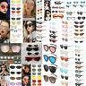 Charm Women Oversize Square Oval Frame Sunglasses Cat Eye Retro Glasses Eyewear