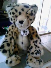 Build A Bear Leopard Stuffed Animal with WWF Tag CUTE!