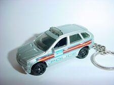 NEW 3D BMW X5 CUSTOM KEYCHAIN keyring key POLICE finish suv offroad X-5 cop LAW