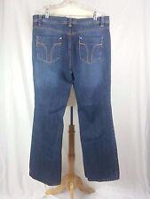Women's Cato Dark Blue Denim Jeans Size 16 40 x 32 EUC