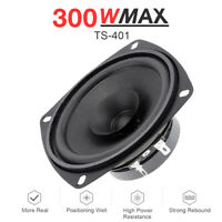 "300W MAX 4"" Inch TS Series Coaxial Car Door Audio Speaker 60Hz-20kHZ 93dB 4 OHM"