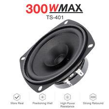 "300W MAX 4"" Inch TS Series Coaxial Car Door Audio Speaker 60Hz-20kHZ 93dB 4 OHM"