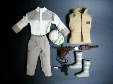 1/6 Luke Hoth Star Wars Outfit Blaster for Battlefront Sideshow Hot Toys Rebel