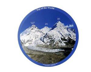 Tapis de souris Mont Everest Lhotse Nuptse Népal