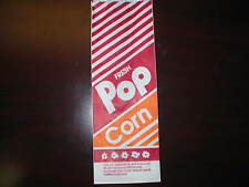 """Popcorn Bags  (1000)  10"""" 1.5oz Great Size (NEW)"""