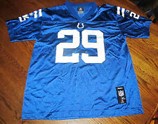 NFL Indianapolis Colts JOSEPH ADDAI #29 Football Jersey Reebok Shirt Youth XL