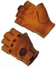 CHURCHILL DEERSKIN LEATHER OPEN TIP SIZE MD TAN USA MADE