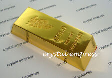 Feng Shui - 2016 Gold Bar with Dragon Symbol for Wealth Luck (High Quality)
