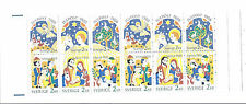 Sweden 1988 Christmas, Julpost Booklet SC 1713-1718a Facit H390, MNH Fresh*