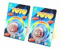 2 X JoJo mit Licht Spiel leuchtend YoYo Leuchtfunktion Leerlauf Starter Geschenk