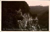 Antique RPPC photograph postcard Tokajeljuvet Norheimsunn Hardanger Norway