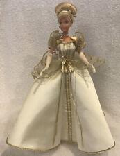 "Beautiful Disney Collector Barbie Winter Dreams Cinderella 12"" Without Box"