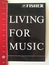 ADESIVI/Sticker: Fisher-Living for music (11041663)