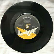 """Motörhead - Motorhead - Bronze - BRO 124 - UK 1981 Vinyl 7"""" 45 Single Hard Rock"""