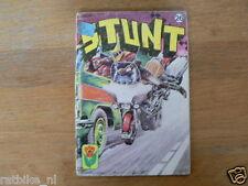 STUNT COMIC DUTCH NO 26,DE LAATSTE RONDE, HARLEY-DAVIDS