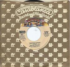 "KISS usa 7"" 45 CHRISTINE SIXTEEN~SHOCK ME, Casablanca 889, 1977 hard rock"