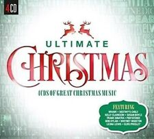 Ultimate Christmas [Sony] by Various Artists (CD, Oct-2015, 4 Discs, Sony Music)