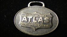 Atlas Products, Christmas Trees, Engineering Works Houston, Texas Watch Fob #253