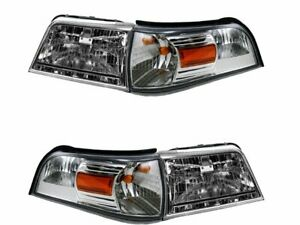 For 2006-2011 Mercury Grand Marquis Headlight and Cornering Light Kit 78224BK