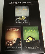 Erotic Romance Novel / CROSSFIRE  By Sylvia Day  (3 Book Set)