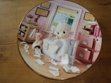 precious moments plate set of eight