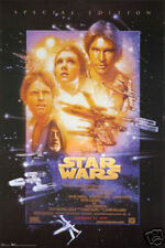 #1655 Star Wars 4 Movie Poster 24X36 approx.