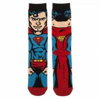 SUPERMAN 360 socks BUY 3 pair GET 4TH PAIR FREE novelty footwear like ODD SOX