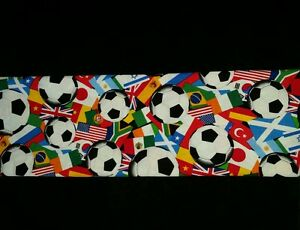 CUSTOM - SOCCER BALL SPORT FLAGS AROUND THE WORLD TEAMS BATH HAND TOWEL SET
