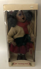 Vintage Old World 18� Porcelain Caroling Doll Hand Painted W/ Stand New