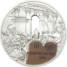 3rd. Commandment $2 Palau 2014 Silver Proof Coin with COA+ Box