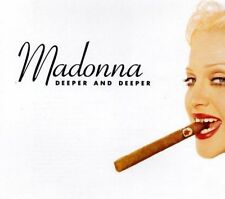Madonna Deeper And Deeper Remixes CD Single Rare 1992 Made In Germany Erotica