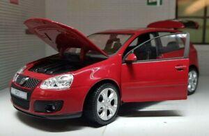 G LGB 1:24 Scale VW Golf GTI Mark 5 V Mk5 12577 Red Detailed Model Car Cararama