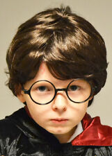 Childrens Harry Potter Style Dark Brown Wig