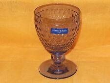 V&B VILLEROY & BOCH - BOSTON COLOURED blue - Weissweinglas Weinglas Glas ~120mm
