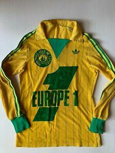 MAILLOT JERSEY VINTAGE - ADIDAS - FC NANTES - EUROPE 1 - SAISON 1981-1982