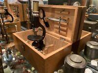 Vintage Microscope & Case