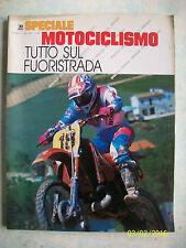 TUTTO SUL FUORISTRADA=SPECIALE MOTOCICLISMO=N° 3 DEL 1989= PAG. 200 = FOTOGRAFIE