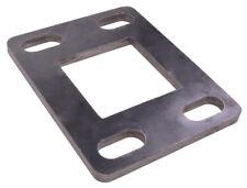 Fußplatte Eisenplatte Ankerplatte Bodenplatte Anschweißplatte Stahl 180x140x10mm