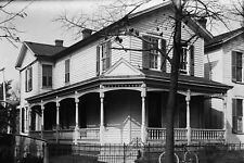 New 5x7 Photo: Wright Brothers Home on Hawthorne St. in Dayton, Ohio - 1900
