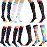 Compression Socks For Women Men 48-59CM Medical Nursing Travel Crossfit Sports