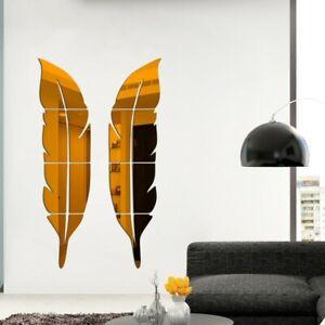 Acrylic Wall Stickers Backdrop 73*18cm Bathroom Bedroom Decor Fashionable