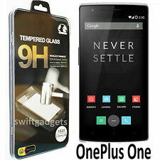 Genuine Premium TEMPERED GLASS Screen Protector Film for ONEPLUS ONE ONEPLUS 1