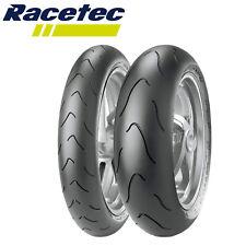 Metzeler Racetec Interact K3 120 70 180 55 Pneumatici Coppia Gomme DOT 2018