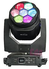 7x15W Osram bee eyes Beam Zoom rotate lens LED disco dj Stage effect event Light