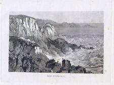 DAS NORDCAP-StSt. um 1837-9,0x14,0 cm
