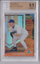 2000 Finest Refractors Lyle Overbay Rookie Graded BGS 9.5