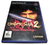Onimusha 2 Samurai's Destiny PS2 PAL *Complete*